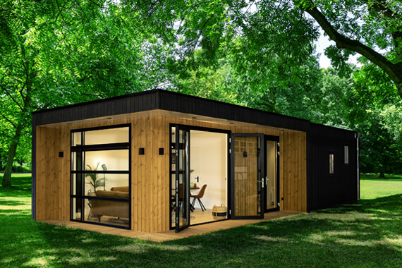 Tiny House Rotterdam kopen Boekhome lodge